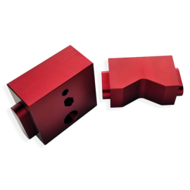 RACKATIERS CWS-2 - REPLACEMENT FEED GUIDE (RED WITH 3 HOLES)