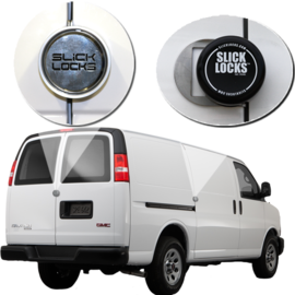 SLICKLOCKS Chevy/ GM Savana/ Express Sliding Door Complete Turn Key Kit - 1997-Present