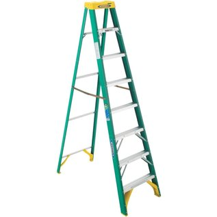 8' FIBERGLASS STEP LADDER II - CA