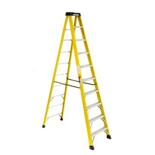 10' FIBERGLASS STEP LADDER IA - CA