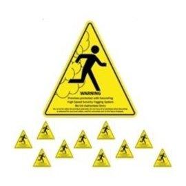 AZCO SECUREFOG WARNING DECALS