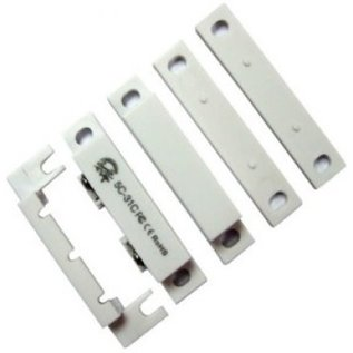 """AZCO STD. COMMERCIAL SURFACE MOUNT SWITCH , 2 1/2"""" LONG, W/ TERMINALS  NC - 10 PACK"""
