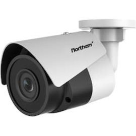 NORTHERN VIDEO 4MP H.265 2.8MM POE BULLET TRUE WDR, SD SLOT, 100' IR, IP67 UL-CUL, WHITE