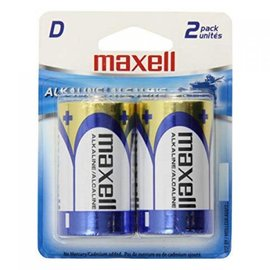 MAXELL D BATTERY (BLISTER CARD) - 2 PACK