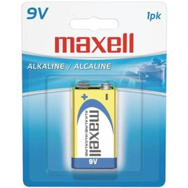 MAXELL 9V BATTERY (BLISTER CARD)