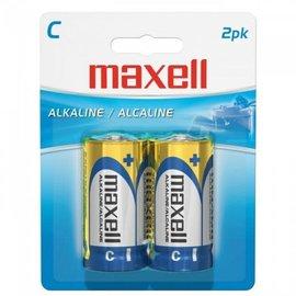 MAXELL C BATTERY (BLISTER CARD) - 2 PACK
