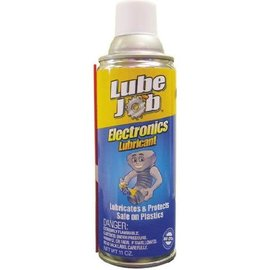 LUBE JOB ELECTRONICS LUBRICANT - CLEANS AND LUBRICATES
