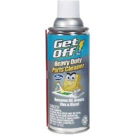 GET OFF HEAVY DUTY PARTS CLEANER - REMOVES OIL, GREASE, FLUX, ETC.