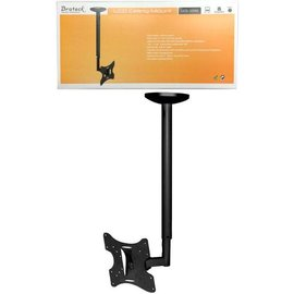 UNIVERSAL FULL MOTION LCD/PLASMA TV CEILING MOUNT - FITS 23-43""