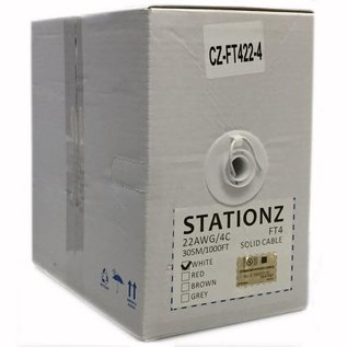 1000FT. SOLID ALARM/STATION Z CABLE - 22AWG/4C