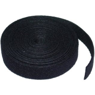 5 YARD (4.5M) VELCRO CABLE TIE - 8MM WIDE - BLACK