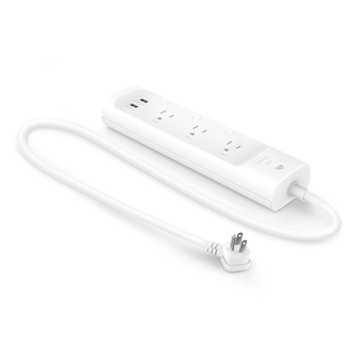 Kasa Smart Wi-Fi Power Strip, 3-Outlets