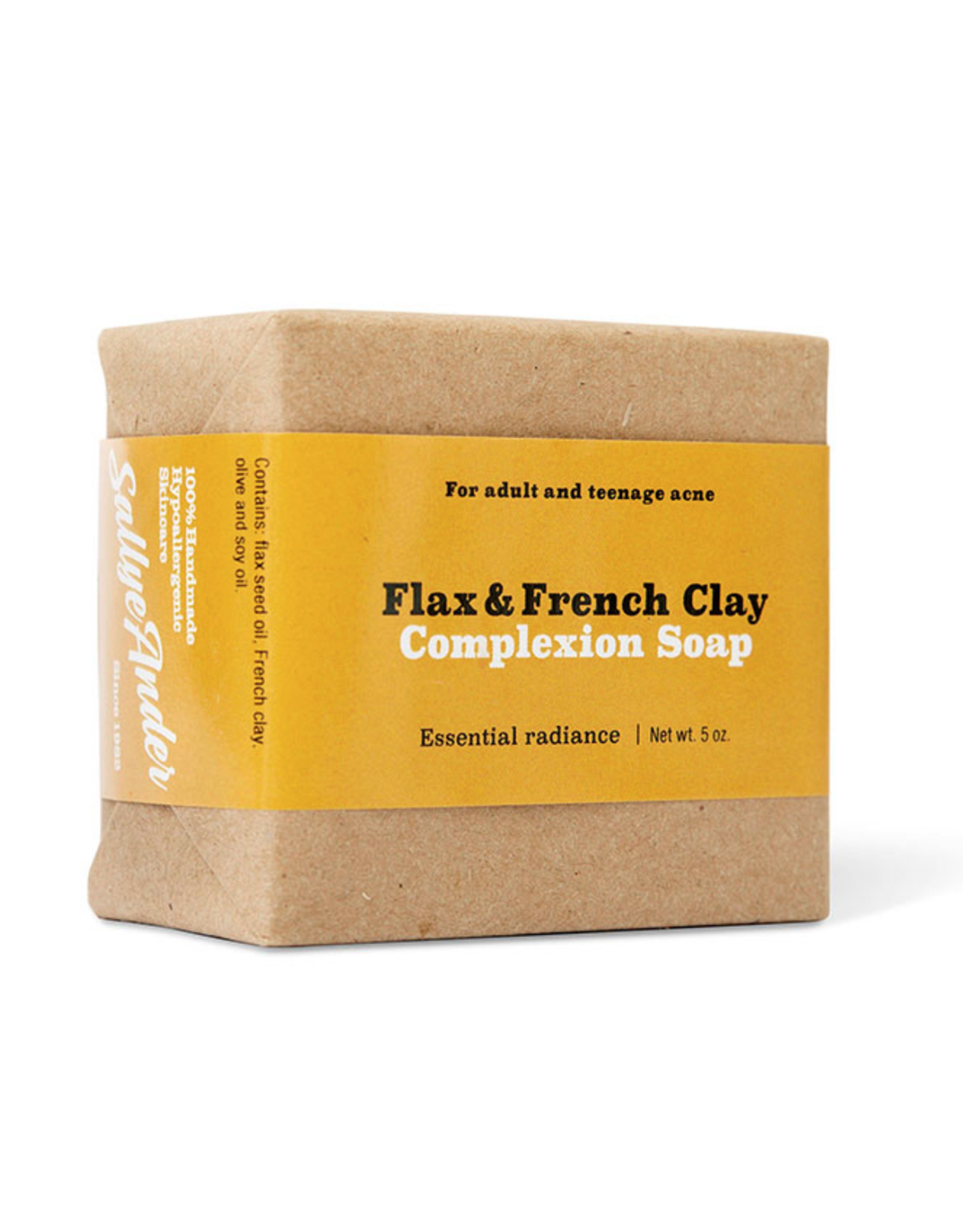 Flax & French Clay Bar Soap / Face Soap