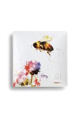 Demdaco Bumble Bee Snack Plate