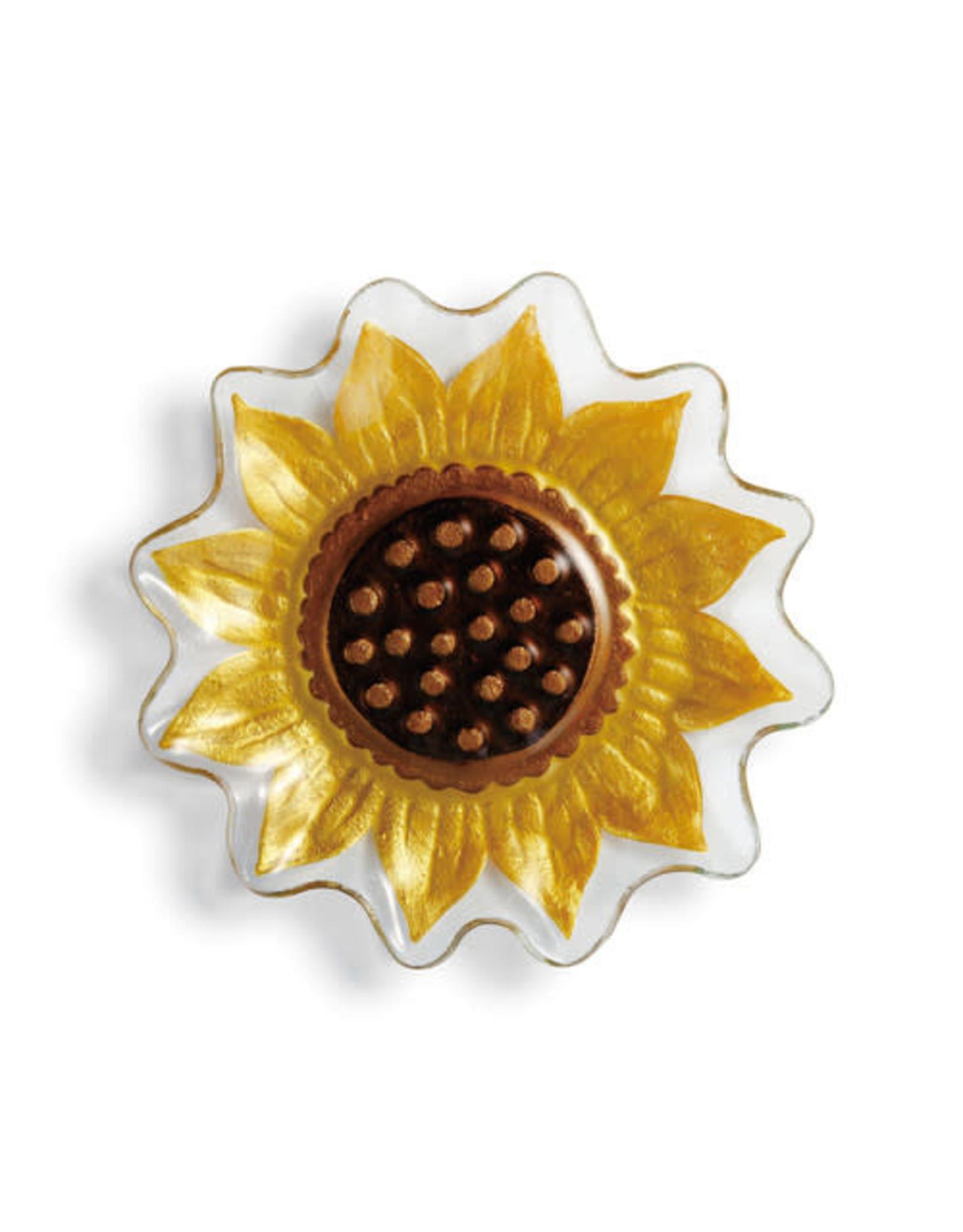 Demdaco Sunflower Shaped Plate