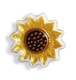 Demdaco Sunflower Shaped Plate