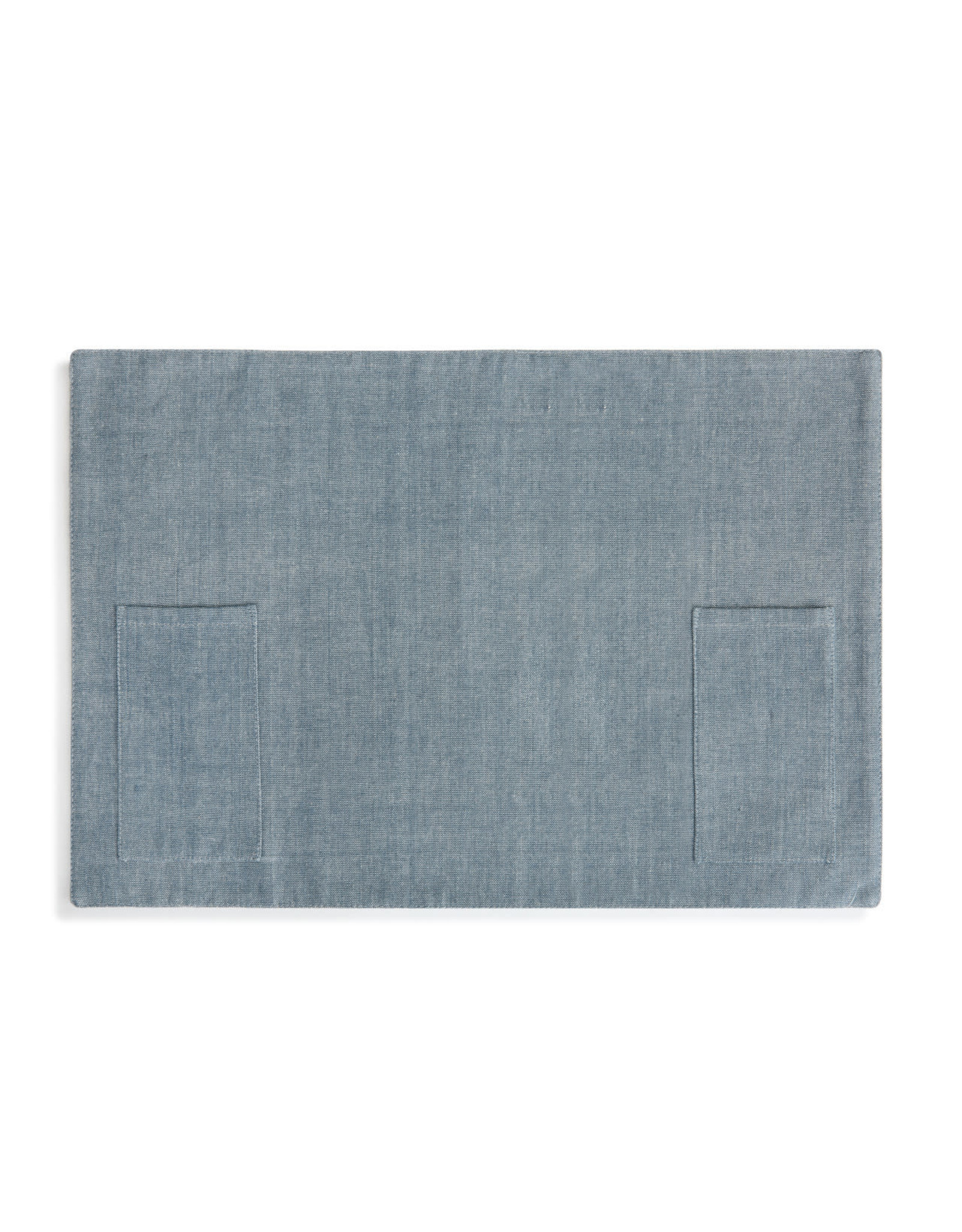 Demdaco Chambray Utensil Pocket Placemat