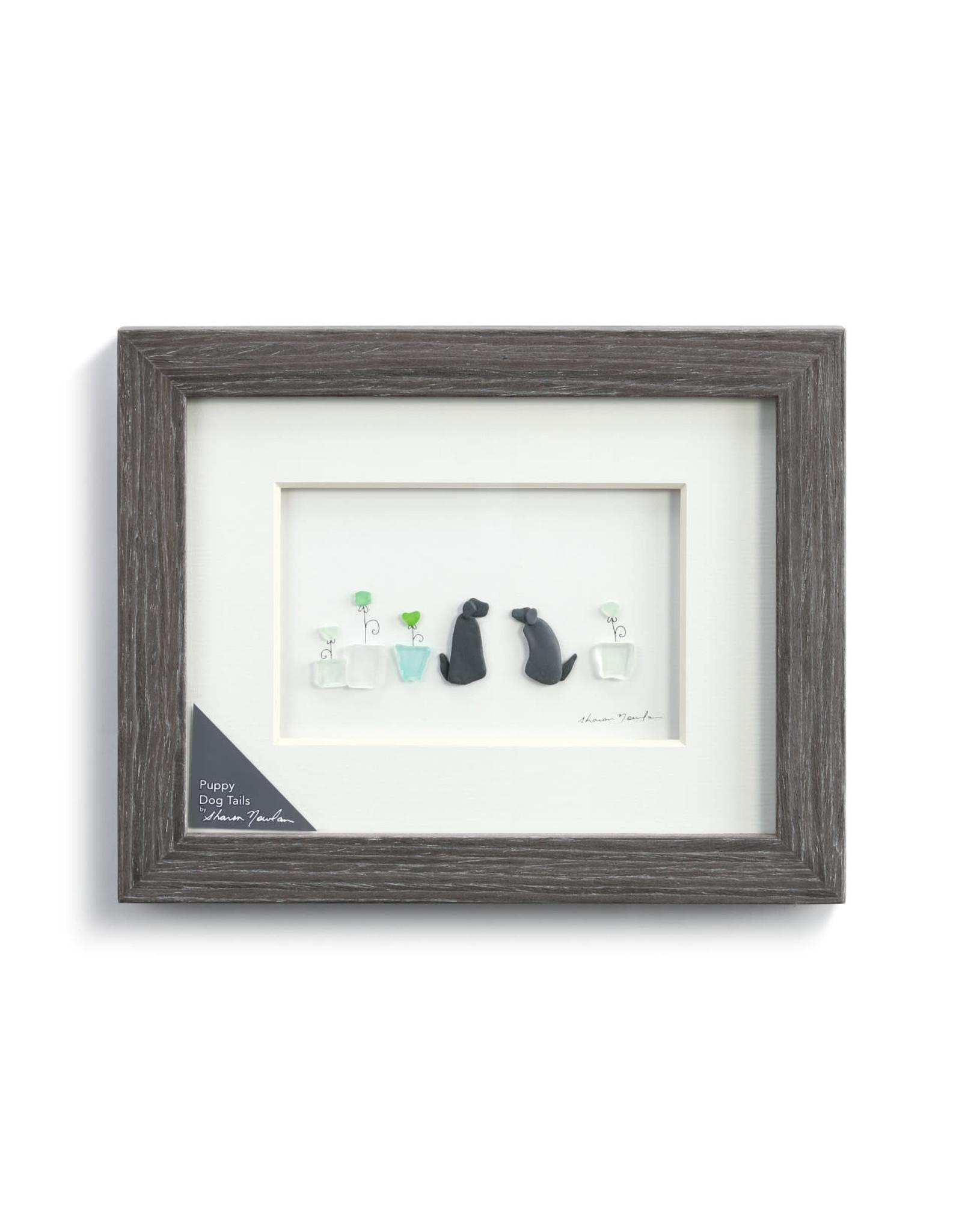 Demdaco Puppy Dog Tails Wall Art 10x8