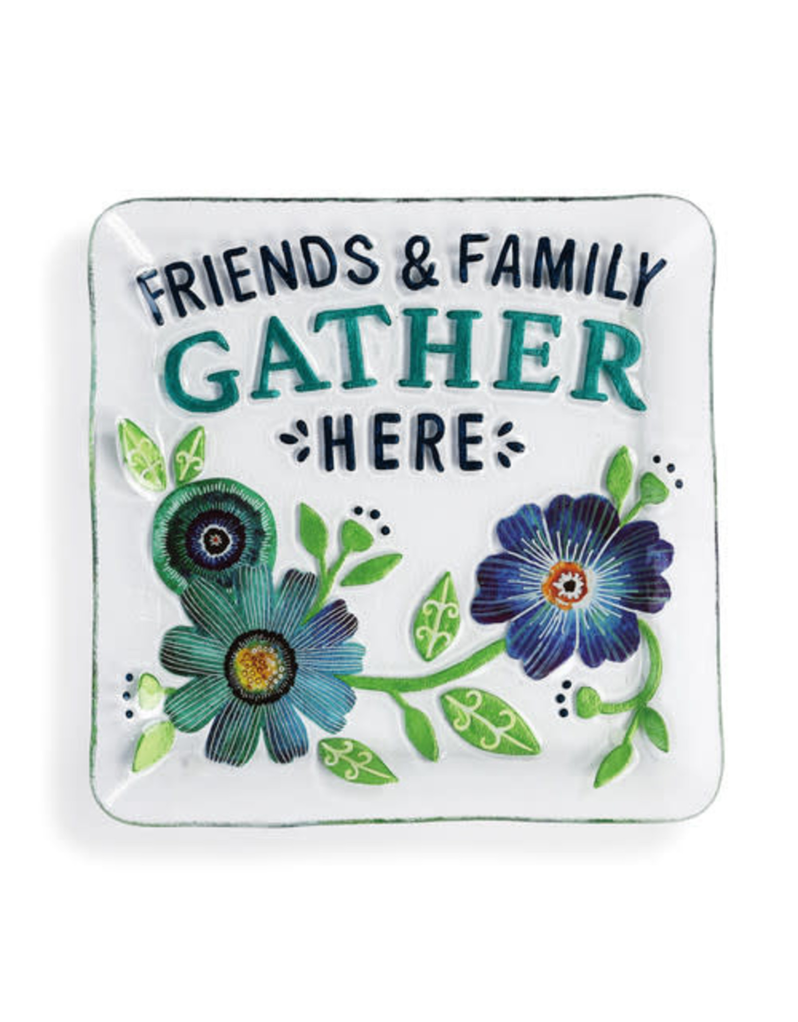 "Demdaco ""Friends and Family Gather"" Plate"