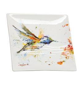 Demdaco Hummingbird Snack Plate