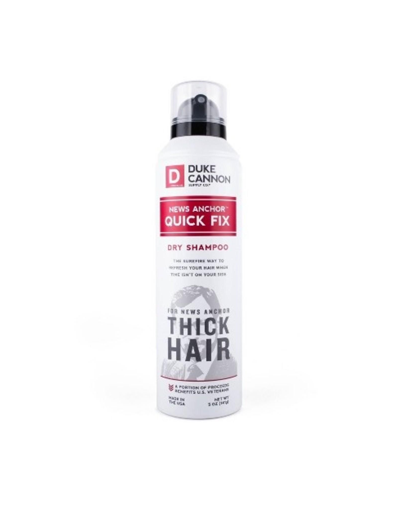 Duke Cannon News Anchor Quick Fix Dry Shampoo