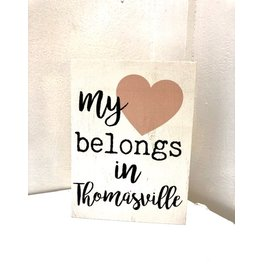 P. Graham Dunn My Heart Belongs In Thomasville