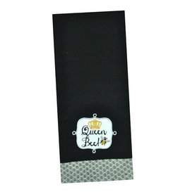 DII Queen Bee Dishtowel