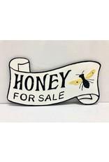 Ganz / Midwest / CBK Honey for Sale Metal Sign