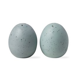 Tag Blue Robin Eggs Salt and Pepper Shakers