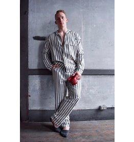 Lazy One Striped Pajama Set