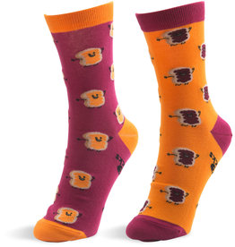 Pavilion Peanut Butter and Jelly Socks