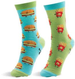 Pavilion Cheeseburger and Fries Socks