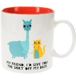 Pavilion Llama & Cat Mug