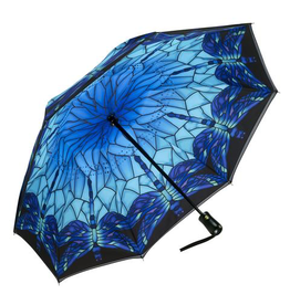 Galleria Enterprises Stained Glass Dragonfly Umbrella