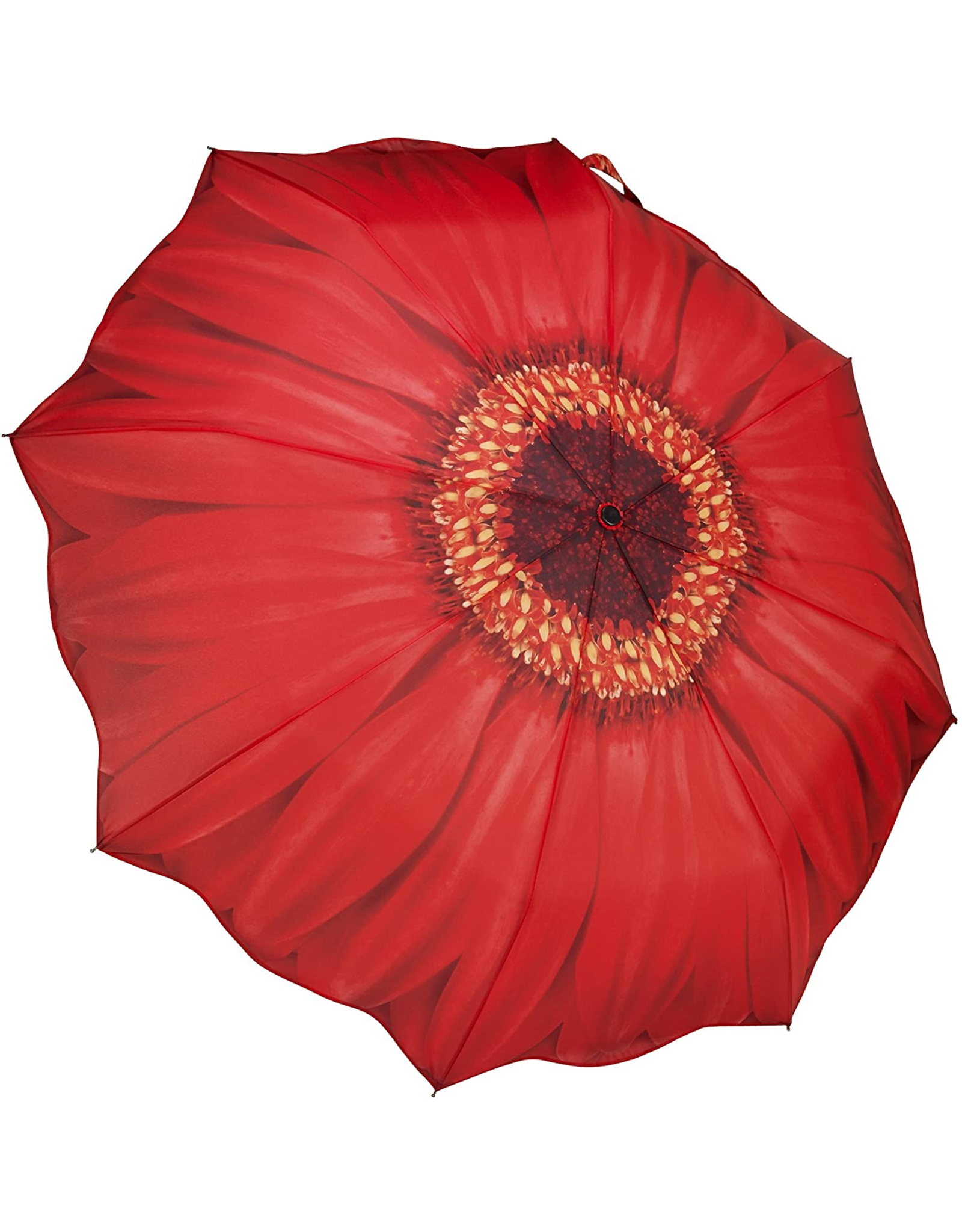 Galleria Enterprises Red Daisy Umbrella