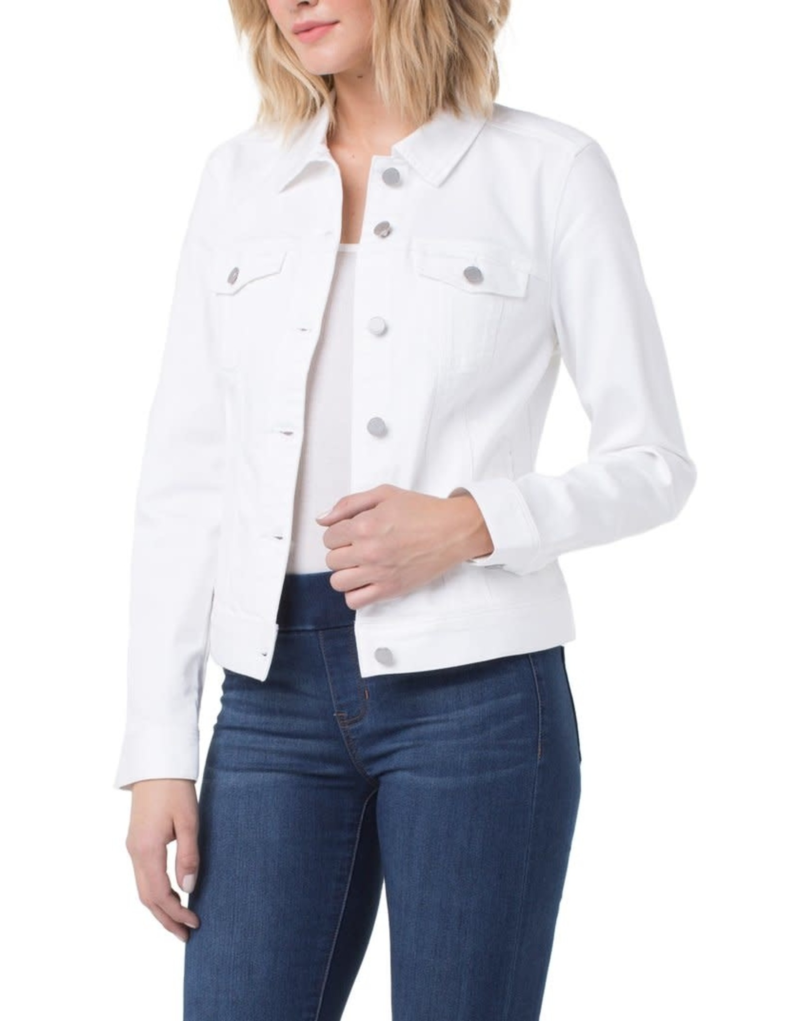 LIVERPOOL Classic White Jean Jacket