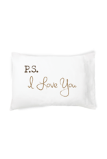 "Faceplant ""P.S. I Love You"" Pillow Case"