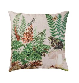 C&F Enterprise Fern and Frog Pillow 18x18
