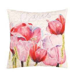 C&F Enterprise Pink Tulips Pillow
