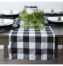 DII Farmhouse Buffalo Table Runner