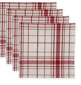 DII Homestead Plaid Napkin