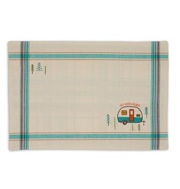 DII Camper Embellished Placemats Mixed