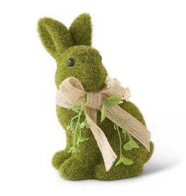 K&K Interiors Laying Green Bunny