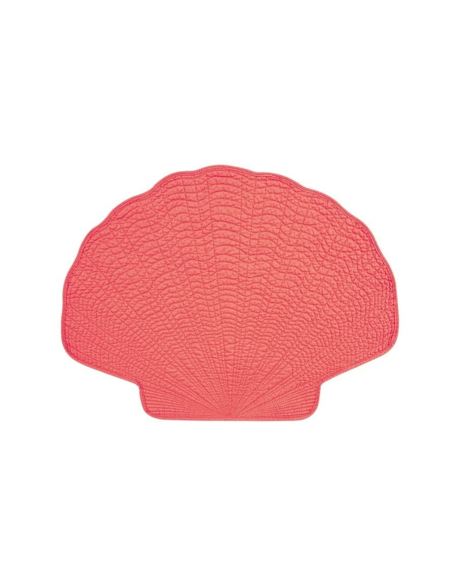 C&F Enterprise Shell Placemet Coral