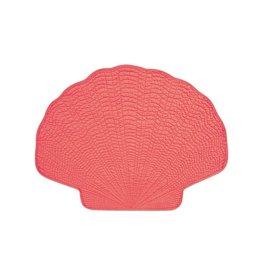 C&F Enterprise Shell Placemet Coral