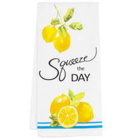 "Ganz / Midwest / CBK ""Squeeze The Day"" Dish Towel"