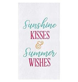 Sunshine Kisses & Summer Wishes Dish Towel