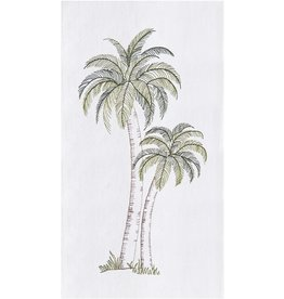 C&F Enterprise Pair of Palm Trees Towel