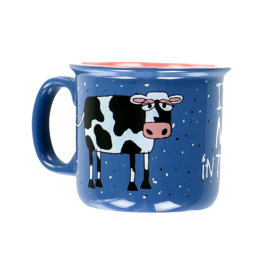 Lazy One Moo-dy In The Morning Mug