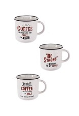 """Ganz / Midwest / CBK """"Be Strong, I Whisper To My Coffee"""" Mug"""